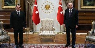Cumhurbaşkanı Erdoğan Türkmenistan Dışişleri Bakanı Meredow'u kabul etti