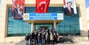 Tutşi, Ergani İçme Suyu Arıtma Tesisi'nde incelemede bulundu