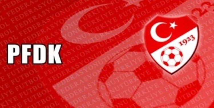 Süper Lig'den 5, TFF 1. Lig'den 2 takım PFDK'ya sevk edildi