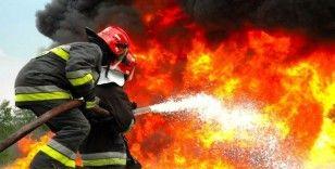 Beylikdüzü Cumhuriyet Caddesinde bulunan bir villada yangın çıktı