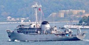 Yunan hava kuvvetleri, TCG Çeşme gemisini taciz etti