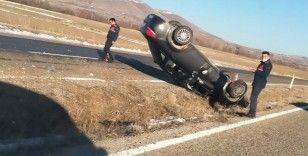 Kırşehir'de kaza 2 yaralı