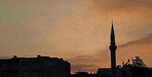 Manisa'da sığırcık kuşlarının gökyüzünde dansı ilgi çekti