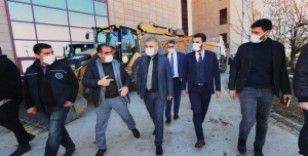 Gazi Yaşargil Eğitim ve Araştırma Hastanesi'nin altyapı sorunu çözülüyor