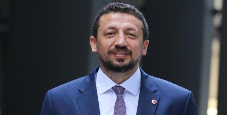Basketbol Federasyonu Başkanı Türkoğlu: Geleceğimizin iyi yolda olduğunu söyleyebiliriz