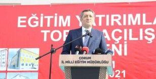 """Milli Eğitim Bakanı Selçuk: """"Çocuklarımızın eğitimden geri kalmaması için ne gerekiyorsa yapıyoruz"""""""