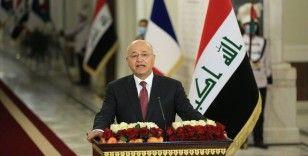 Irak Cumhurbaşkanı Salih: Irak ve ABD hükümetleri, ülkede kalıcı olarak yabancı güçlerin varlığını istemiyor