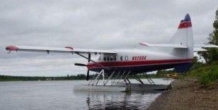 ABD'de deniz uçağı göle düştü