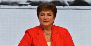IMF Başkanı Georgieva'dan 'toparlanma beklentilerinin ülkeler arasında tehlikeli biçimde ayrıştığı' uyarısı