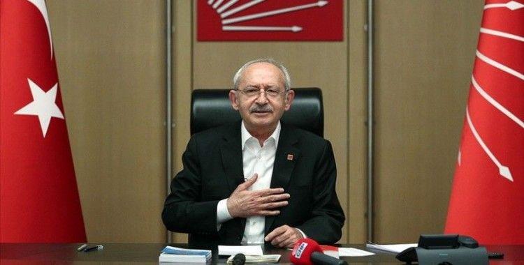 CHP Genel Başkanı Kılıçdaroğlu motorlu kuryelerle görüştü