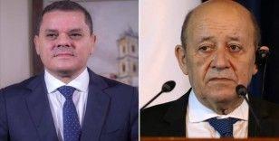 Libya Başbakanı, Fransa Dışişleri Bakanı'nın 'Libya'daki yol haritasını desteklediğini' açıkladı