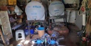 Tekirdağ'da bin 155 litre kaçak içki ele geçirildi