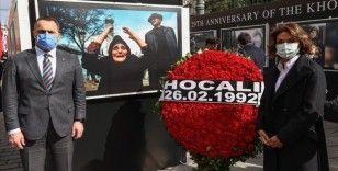 İstanbul'da '29. Yılında Hocalı Soykırımı Fotoğraf Sergisi' açıldı