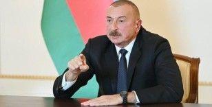 Aliyev: 'Türk firmaları 10 milyar doları aşan projelerde yer aldı