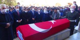 Şanlıurfa'da kazada ölen asker son yolculuğuna uğurlandı
