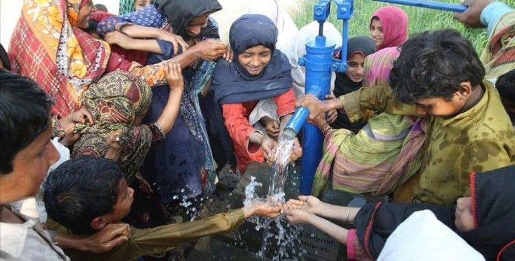 Türk kabin memurları ve kaptanların bağışlarıyla Pakistan'da 45 su kuyusu açıldı