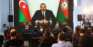 Azerbaycan Cumhurbaşkanı Aliyev: Azerbaycan'da Türk ordusunun küçük modelini oluşturacağız