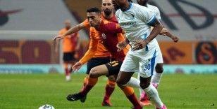 Süper Lig: Galatasaray: 2 - BB Erzurumspor: 0 (İlk yarı)