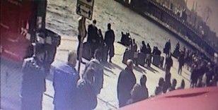 İstanbul'da genç kıza dehşeti yaşatan kapkaççıya meydan dayağı