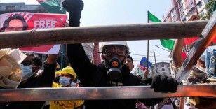 Myanmar'da darbe karşıtı gösterilerde 4 kişi öldü, çok sayıda kişi gözaltına alındı