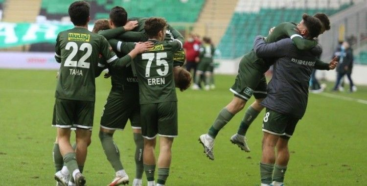 Bursaspor'un gol hasreti sona erdi