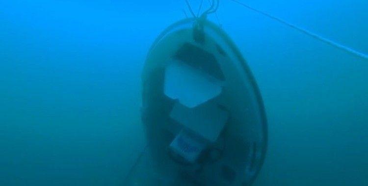 Gökçeada'da 3 kişiye mezar olan teknenin kurtarılma anı görüntüleri ortaya çıktı