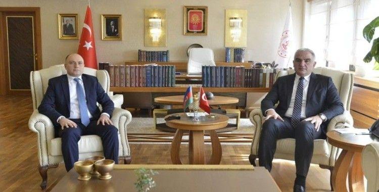 """Kültür ve Turizm Bakanı Ersoy: """"Özellikle sinema konusunda ortak iş birliğinin artırılması gerekiyor"""""""