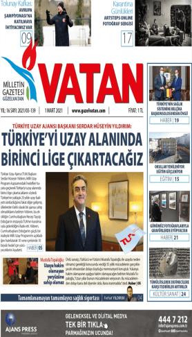 GüzelVatan E-Gazete - Mart 2021