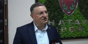 Hatayspor Başkanı Savaş'tan UEFA ve Boupendza açıklaması