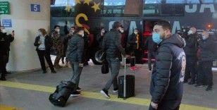 Galatasaray kafilesi Ankara'ya geldi