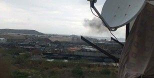 Lübnan'da demir deposunda patlama: 1 ölü, 4 yaralı