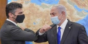 BAE'nin İsrail Büyükelçisi, Netanyahu ile bir araya geldi