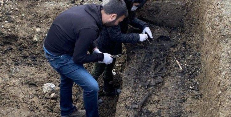 Bizans İmparatorluğuna ait bulunan mezar heyecanlandırdı