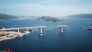 Bosna Hersek'in denize çıkışını kapatan köprünün inşaatı sürüyor