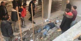 Avcılar'da inşaattan düşen işçi yaralandı