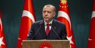 Cumhurbaşkanı Erdoğan: Kahraman şehitlerimize Allah'tan rahmet, yaralılarımıza acil şifalar diliyorum
