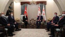 Cumhurbaşkanı Tatar, Ticaret Bakanı Pekcan'ı kabul etti