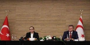 Ticaret Bakanı Pekcan, KKTC'li Bakan Arıklı ile görüştü