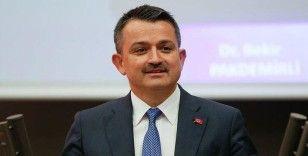 Bakan Pakdemirli: '377 milyon liralık destek ödemelerine bugün başlıyoruz'