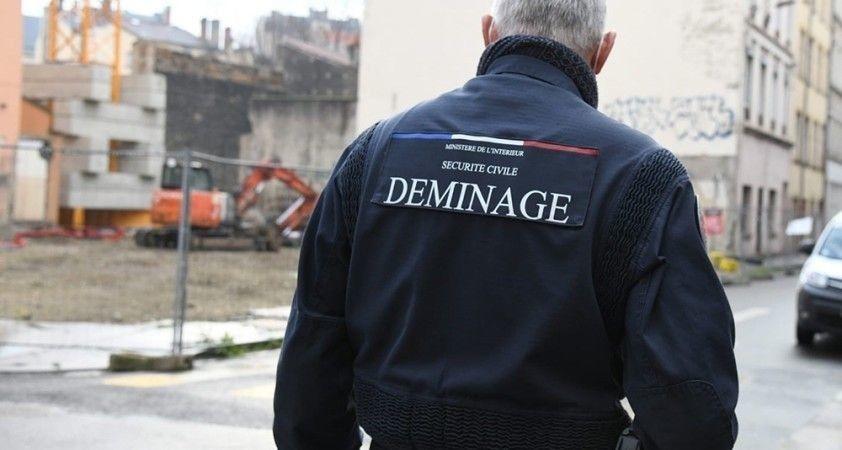 Lyon'da 2. Dünya Savaşı'nda kalma bomba bulundu