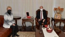 KKTC Cumhurbaşkanı Tatar: 'Bizim için önemli olan ulusal çıkarlarımızın iyi bir şekilde korunabilmesi'