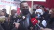 Beyoğlu ilçe Belediye Başkanı Yıldız'dan evlat nöbetindeki ailelere 8 Mart ziyaret