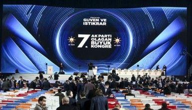 AK Parti'nin Olağan Büyük Kongresine MHP geniş heyetle katıldı