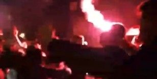 Çok yüksek riskli Samsun'da asker uğurlamasında şok görüntüler