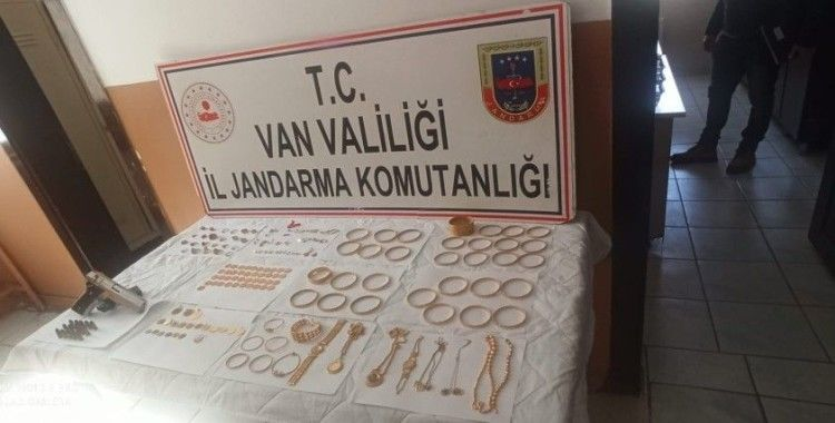 İstanbul'da çalınan 1,5 milyon TL değerindeki altın Van'da ele geçirildi