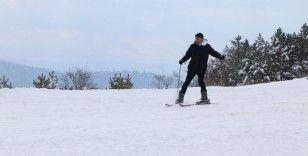 Mart karı kayak merkezini yeniden açtırdı