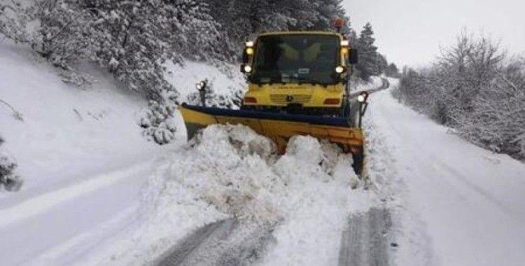 DBB'nin 'Kar Kaplanları' Mart ayında da karla mücadelede