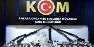 Ankara merkezli silah kaçakçılığı operasyonu: 8 gözaltı