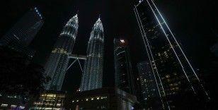 """Malezya'da """"Dünya Saati"""" etkinliği için ışıklar söndürüldü"""