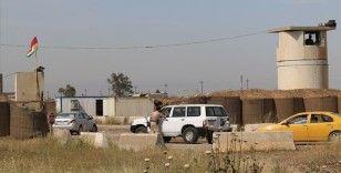 Kerkük sınırı yakınındaki Peşmerge güçlerine roketli saldırı